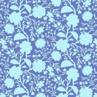 Tula Pink True Colors Wildflower Delphinium Floral Botanical Cotton Fabric