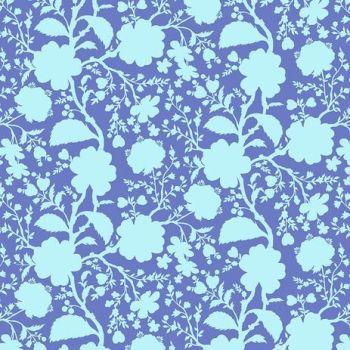 Tula Pink True Colors Wildflower Delphinium Floral Botanical Cotton Fabric