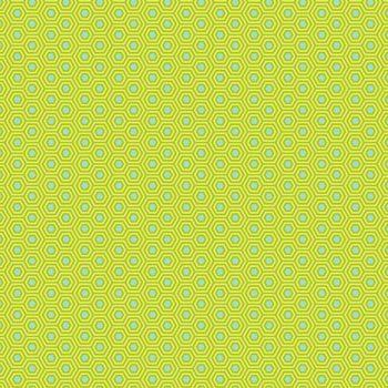 Tula Pink True Colors Hexy Chameleon Hexagon Spot Cotton Fabric
