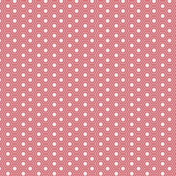 Tula Pink True Colors Hexy Flamingo Hexagon Spot Cotton Fabric