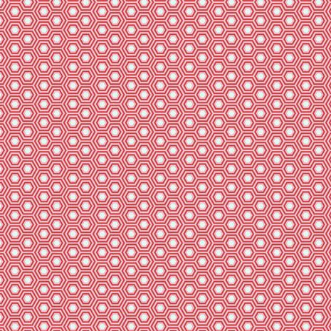 PRE-ORDER Tula Pink True Colors Hexy Flamingo Hexagon Spot Cotton Fabric