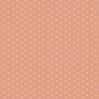 PRE-ORDER Tula Pink True Colors Hexy Peach Blossom Hexagon Spot Cotton Fabric