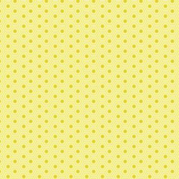 IN STOCK Tula Pink True Colors Hexy Sunshine Hexagon Spot Cotton Fabric