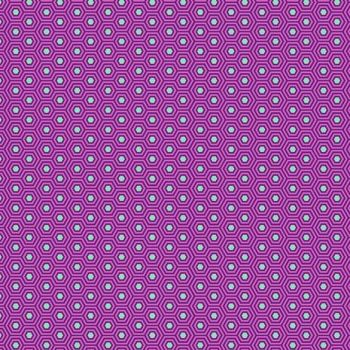 PRE-ORDER Tula Pink True Colors Hexy Thistle Hexagon Spot Cotton Fabric