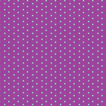 Tula Pink True Colors Hexy Thistle Hexagon Spot Cotton Fabric