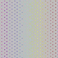 IN STOCK Tula Pink True Colors Hexy Rainbow Dove Ombre Hexagon Spot Cotton Fabric
