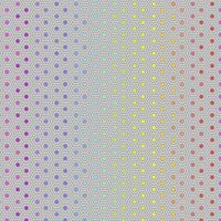 Tula Pink True Colors Hexy Rainbow Dove Ombre Hexagon Spot Cotton Fabric