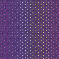 IN STOCK Tula Pink True Colors Hexy Rainbow Starling Ombre Hexagon Spot Cotton Fabric