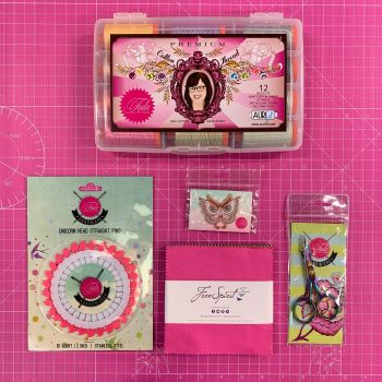 LIMITED EDITION Tula Pink Owl Pin Hardware Essentials Bundle