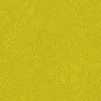 Sun Print 2020 Stitched Chartreuse Floral Geometric Alison Glass Cotton Fabric