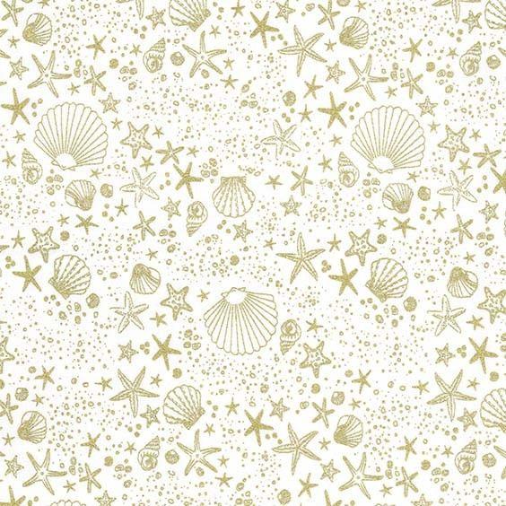 REMNANT 20cm Glitter Critters Seashore Sparkle Shells Seashells Sea Shell B
