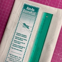 Add-An-Eighth Plus Ruler Add An Eighth For Foundation Paper Piecing by CM Designs