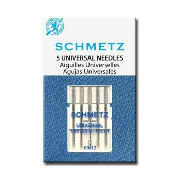 Schmetz Universal Needles 80/12 Pack of 5