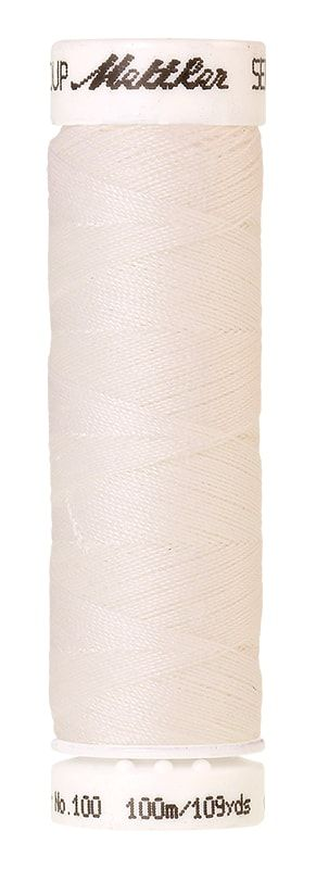 Mettler Seralon 100m Universal Sewing Thread White