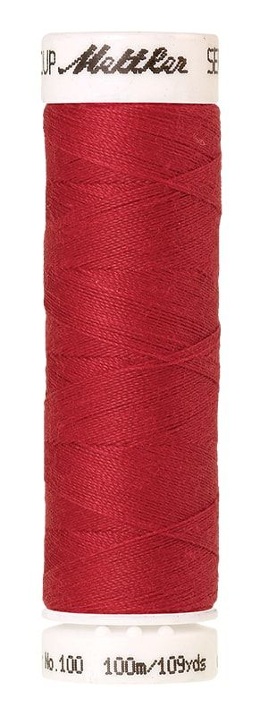 Mettler Seralon 100m Universal Sewing Thread 0102 Poinsettia