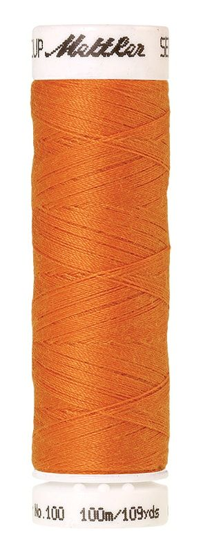 Mettler Seralon 100m Universal Sewing Thread 0122 Pumpkin