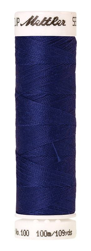 Mettler Seralon 100m Universal Sewing Thread 1078 Fire Blue