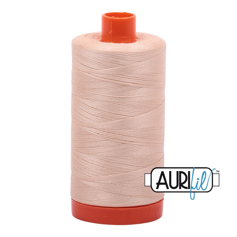 Aurifil 80wt Cotton Thread Large Spool 1300m 2315 Shell