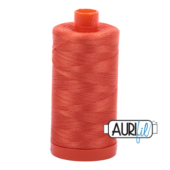 Aurifil 50wt Cotton Thread Large Spool 1300m 1154 Dusty Orange