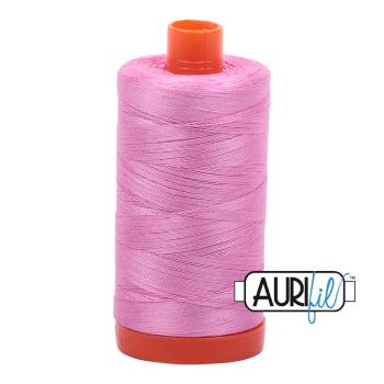 Aurifil 50wt Cotton Thread Large Spool 1300m 2479 Medium Orchid
