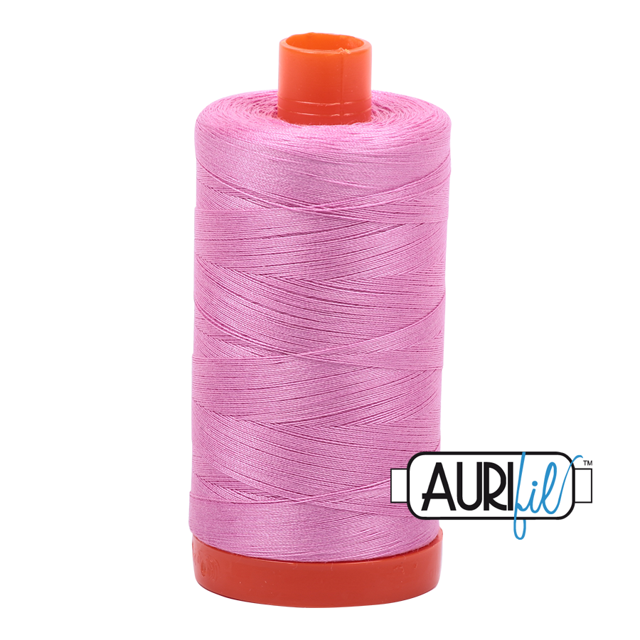 Aurifil 80wt Cotton Thread Large Spool 1300m 2479 Medium Orchid