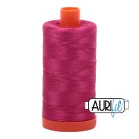 Aurifil 50wt Cotton Thread Large Spool 1300m 1100 Red Plum
