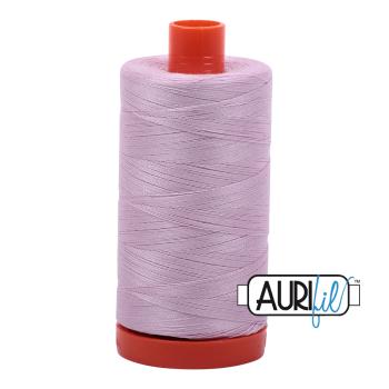 Aurifil 50wt Cotton Thread Large Spool 1300m 2510 Light Lilac