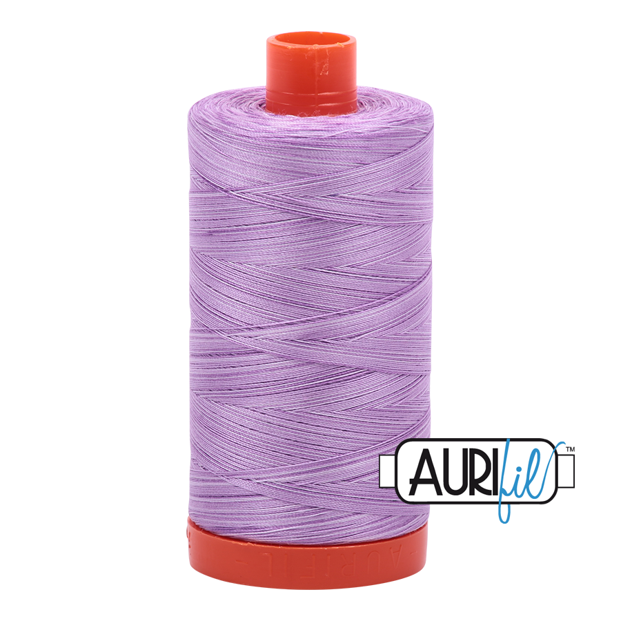 Aurifil 80wt Cotton Thread Large Spool 1300m 3840 French Lilac