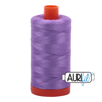 Aurifil 50wt Cotton Thread Large Spool 1300m 2520 Violet