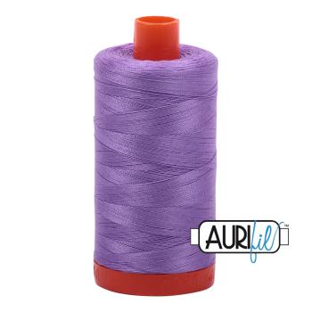 Aurifil 50wt Cotton Thread Large Spool 1300m 2520 Violet