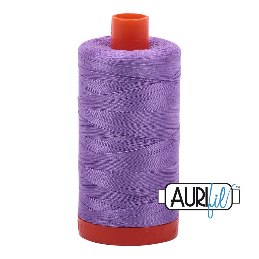 Aurifil 80wt Cotton Thread Large Spool 1300m 2520 Violet