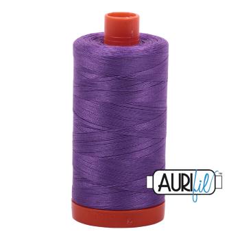 Aurifil 50wt Cotton Thread Large Spool 1300m 2540 Medium Lavender