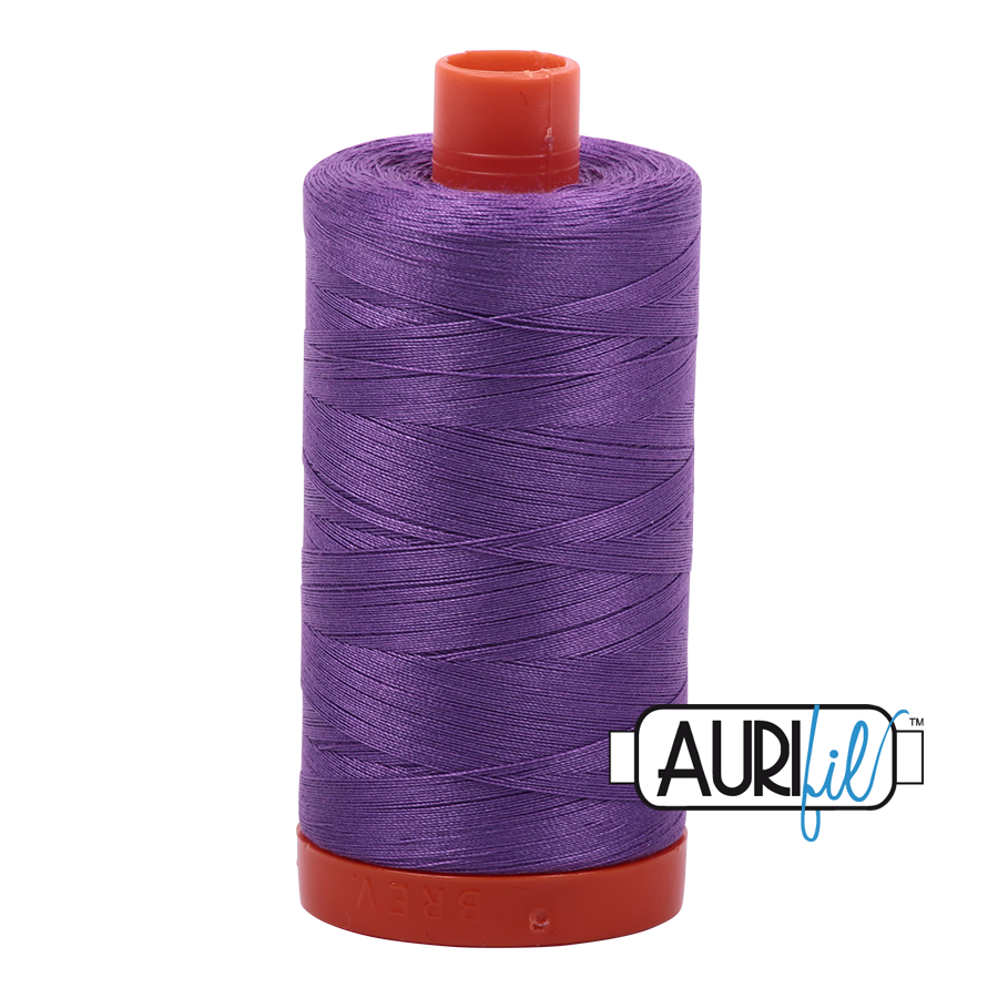 Aurifil 80wt Cotton Thread Large Spool 1300m 2540 Medium Lavender
