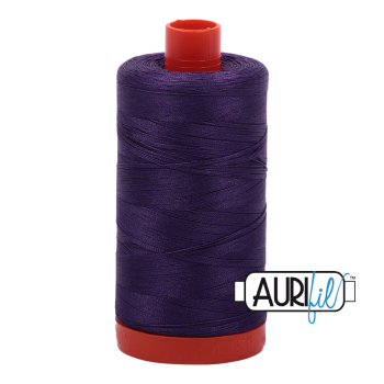 Aurifil 50wt Cotton Thread Large Spool 1300m 2582 Dark Violet
