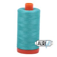 Aurifil 50wt Cotton Thread Large Spool 1300m 1148 Light Jade