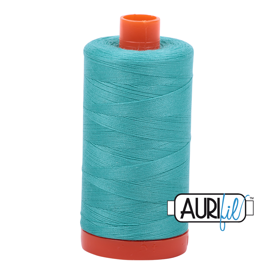 Aurifil 80wt Cotton Thread Large Spool 1300m 1148 Light Jade