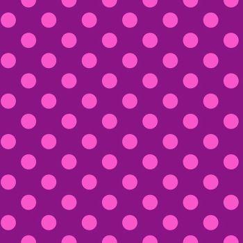 Tula Pink True Colors Pom Poms Foxglove Spot Polkadot Geometric Blender Cotton Fabric