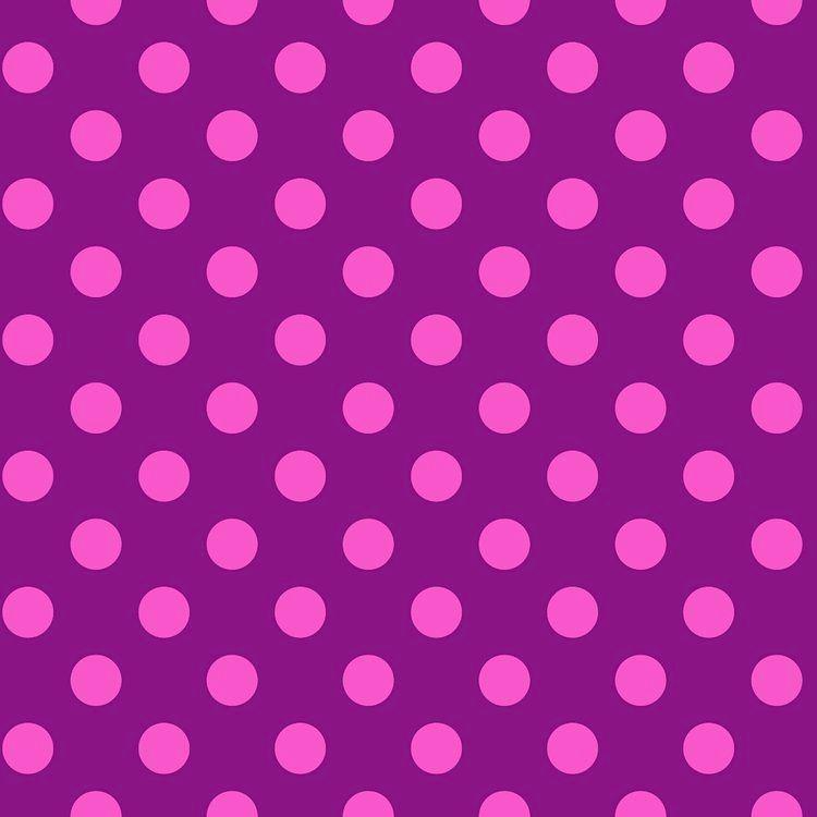 Tula Pink All Stars Pom Poms Foxglove Spot Polkadot Geometric Blender Cotto