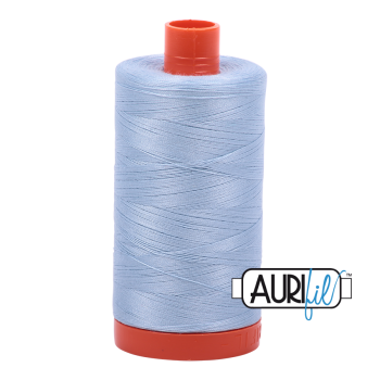 Aurifil 50wt Cotton Thread Large Spool 1300m 2710 Light Robins Egg