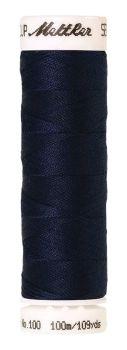 Mettler Seralon 100m Universal Sewing Thread 1465 Midnight Blue