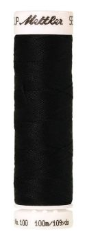 Mettler Seralon 100m Universal Sewing Thread 4000 Black