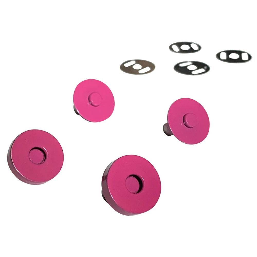 Sassafras Lane Colourful Magnetic Snaps Hardware Pink for Bag and Purse Mak