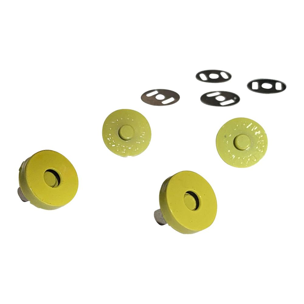 Sassafras Lane Colourful Magnetic Snaps Hardware Wasabi for Bag and Purse M