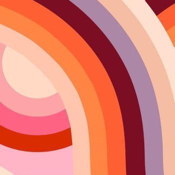 Ruby Star Society Rayon 2019 Daydream Sunset Viscose Challis Fabric
