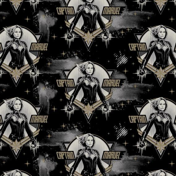 DELUXE Marvel Captain Marvel Galactic Comic Movie Superhero Comic Books Her
