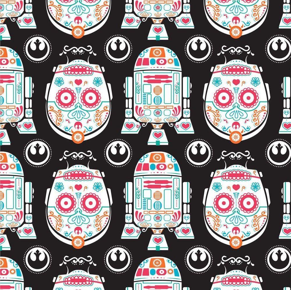 RARE UK Exclusive Star Wars Sugar Skulls Characters Droids R2-D2 C3-P0 Droi