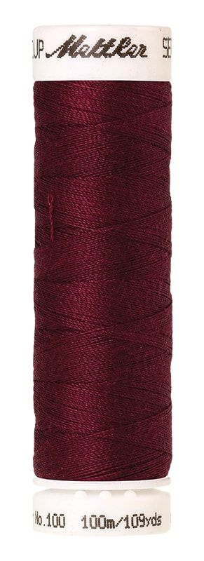 Mettler Seralon 100m Universal Sewing Thread 0918 Cranberry
