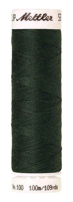 Mettler Seralon 100m Universal Sewing Thread 0627 Deep Green