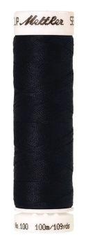 Mettler Seralon 100m Universal Sewing Thread 0821 Darkest Blue