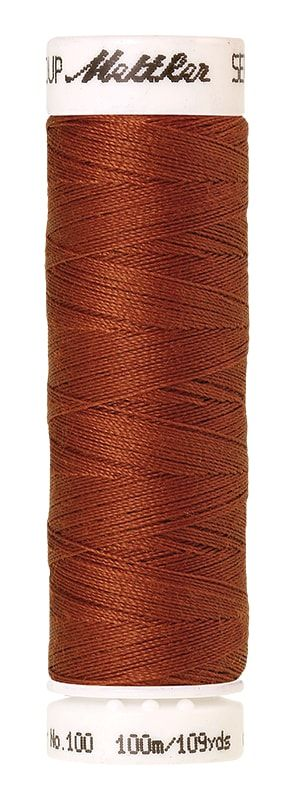 Mettler Seralon 100m Universal Sewing Thread 0163 Copper
